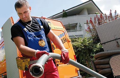 RohrMax Ticino – svuotamento pozzo e lavori di aspirazione